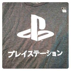 Men's XL Foil PlayStation Graphic T-shirt